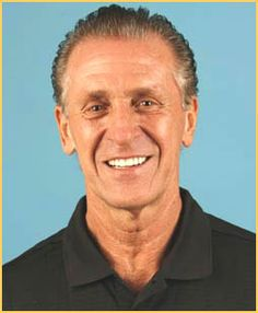 UK alum, former NBA player, NBA Coach, and NBA Heat President- Pat Riley