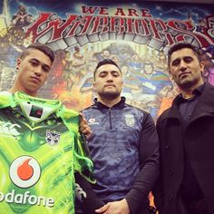 Jerome Ropati with James Rolleston and Cliff Curtis #Gym #Mural #TheDarkHorse #Boy #WarriorsForever #Warriors #Film #GangRelated #WhaleRider