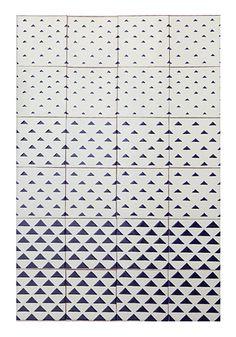 VICCO tiles | design by davidpompa | Uriarte Talavera tiles | handpainted | handmade in México.