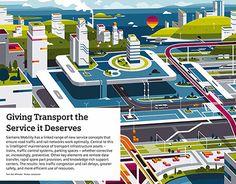 "查看此 @Behance 项目:""Siemens Urban…"