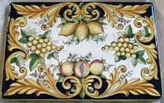 Resultado de imagem para maiolica tradizionale umbra