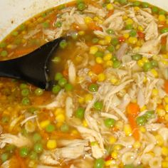Rotisserie Chicken soup Recipes is One Of Liked soup Of Numerous Persons Around the World. Besides Easy to Produce and Great Taste, This Rotisserie Chicken soup Recipes Also Healthy Indeed. Frozen Mixed Vegetable Recipes, Mix Vegetable Recipe, Vegetable Soup With Chicken, Rotisserie Chicken Soup, Chicken Soup Recipes, Easy Soup Recipes, Chilli Soup, Soup Dish, Small Pasta
