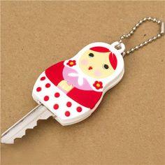 Matryoshka Key Cover Charm