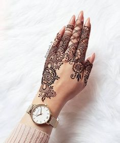 Top Easy, Simple and Latest Henna Arabic Mehndi Designs - Sensod - Create. Pretty Henna Designs, Modern Henna Designs, Indian Henna Designs, Floral Henna Designs, Finger Henna Designs, Latest Bridal Mehndi Designs, Mehndi Designs Book, Mehndi Designs 2018, Mehndi Designs For Girls