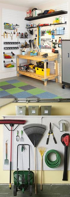 Este año: Mis herramientas tendrán su propio lugar Garage Closet, Garage House, Diy Garage, Shed Storage, Tool Storage, Garage Storage, Tool Room, Garage Addition, Grey Kitchens
