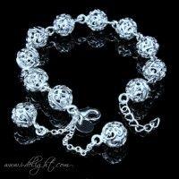 Silver Balls Bracelet ATBR001-1