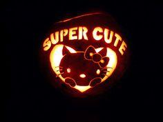 Hello Kitty Pumpkin...
