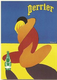 Perrier par Bernard Villemot