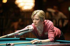 Allison Fisher! Fantastic pro pool player