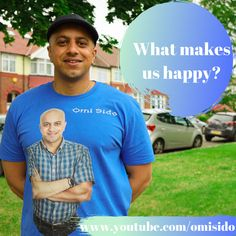 What makes us happy? - The Sunday Talk - Omi Sido Unhappy People, Why People, I Am Happy, Are You Happy, I Can Tell, Told You So, Happy Alone, Steps To Success, Interesting Conversation