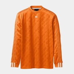 5,889 отметок «Нравится», 65 комментариев — ALEXANDER WANG (@alexanderwangny) в Instagram: «The #adidasOriginalsxAW Drop 3 long sleeve soccer jersey in an all over logo print with up-side-…»