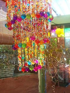 Beaded lampshade | by  Romany Soup I WILL HAVE THIS AND IF YOU THINK I WON'T OHO ARE YOU WONDERFULLY MISTAKEN BECAUSE I WILL HAVE THIS YES I WILL