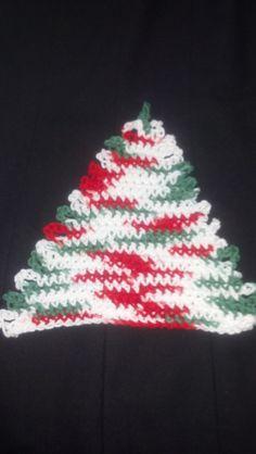 Christmas dishcloth....