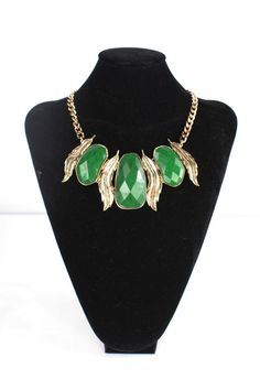 Emerald City Statement Necklace