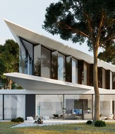 Would you love to live here?🖤 Project b Exterior Design, Interior And Exterior, Floor Plan Drawing, Modern House Design, Modern Houses, House Goals, Best Interior, Luxury Real Estate, Modern Minimalist