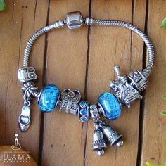 Oportunidade! Veja nossa coleção de berloques e charms folheados para pulseira da vida Pandora Inspired! Compre em até 3x sem juros.