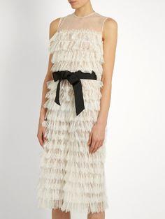 Ezra ruffled-lace jumpsuit   HUISHAN ZHANG