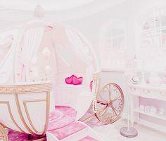 Cinderella Carriage Bed Nursery Baby Girl Room Creative Kids Room Princess