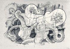 My Works, Moose Art, Illustrations, Animals, Mythical Creatures, Art Ideas, Animales, Animaux, Illustration