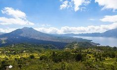 07 May 2013, Bali, Indonesia --- Indonesia, View of volcanic mount Batur with…
