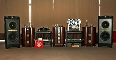 SA Lab Amps , Tannoy Royal Kingdom, Michell Orbe tt, & Studer A810 reel to reel