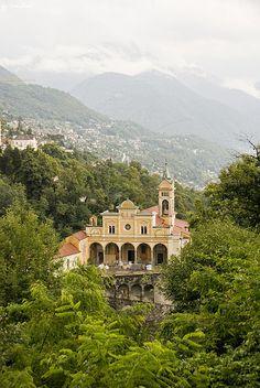 St. Giuseppe Sanctuary near Locarno, Switzerland