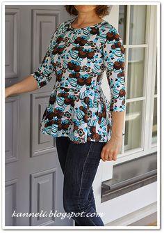 Peplum shirt