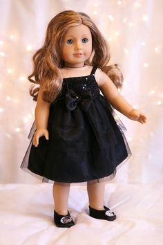 American Girl Doll Clothing  Sequins and Frills Party by SweetPair, $26.00