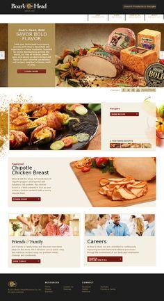 152 Best Web Design Restaurant Food Images On Pinterest Design