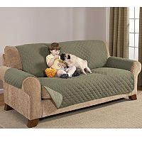 Quilted Water-Absorbent Reversible Furniture Protectors - Sofa (Various Colors) - Sam's Club