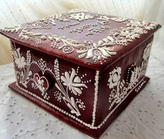Mézeskalács doboz esküvőre