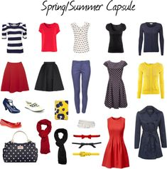 """""""Spring/Summer capsule"""" by christina-sparkle on Polyvore"""