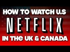 *NEW*HOW TO GET AMERICAN NETFLIX IN CANADA ON YOUR XBOX360, PS3, WII.100% FREE