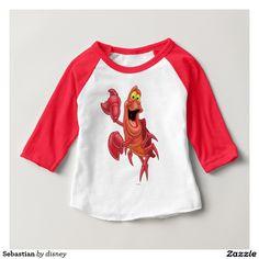 Princess - Sebastian Tee Shirt. Baby, bebé. Producto disponible en tienda Zazzle. Vestuario, moda. Product available in Zazzle store. Fashion wardrobe. Regalos, Gifts. #camiseta #tshirt