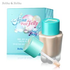 The Best BB Cream I Haven't Tried.  Holika Holika Aqua Petit Jelly BB Cream