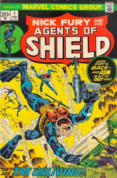 Nick Fury and  his Agents of Shield #1, Jim Steranko