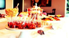 Add height to your buffet or food display. It gives it depth and dresses it up. Homemade Iced Tea, Bridal Shower Tea, Hors D'oeuvres, Bite Size, Vintage Tea, High Tea, Glass Bottles, Buffet, Tea Cups