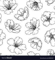 tree illustration black and white & tree illustration - tree illustration simple - tree illustration vector - tree illustration black and white - tree illustration drawing - tree illustration art - tree illustration design - tree illustration architecture Flower Art Drawing, Flower Line Drawings, Flower Drawing Tutorials, Flower Sketches, Floral Drawing, Art Drawings, Texture Illustration, Illustration Design Graphique, Illustration Blume