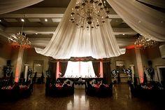 red black white wedding decor | Wedding Obsession – Canadian Wedding Inspiration Blog – Toronto ...