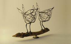 Wire Sculptures   Jill Walker
