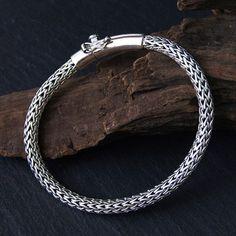 Braided Bracelets, Bracelets For Men, Silver Bracelets, Bracelet Men, Silver Earrings, Mens Silver Jewelry, Men's Jewelry, Jewellery, Chains For Men