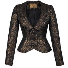 Romanov Jacket black gold - Outlet - Online Store - Lena Hoschek Online Shop