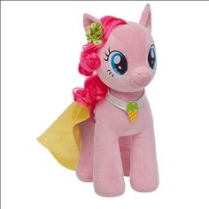 Pinkie Pie My Little Pony plush Build a Bear soo want