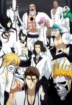 Espada and Aizen