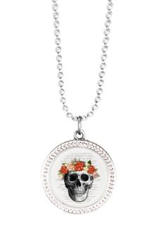 Gorgeous Vintage, fun, vibrant jewellery for every occasion Skull Necklace, Pendant Necklace, Jewelry Shop, Grid, Vintage, Female, Silver, Shopping, Collection