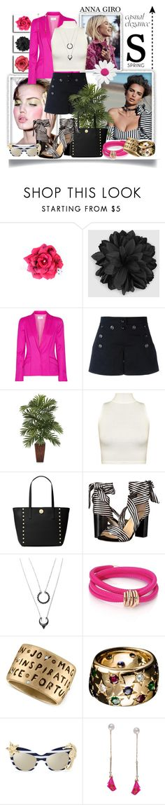 """""""Casual Spring look"""" by annagiro on Polyvore featuring Gucci, Thierry Mugler, Dolce&Gabbana, WearAll, Michael Kors, Raye, de Grisogono, Rachel Rachel Roy, Cartier and Humble Chic"""