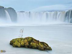 national geographic : Godafoss, Iceland