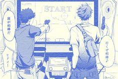 iwaizumi, oikawa, arcade, http://www.pixiv.net/member_illust.php?mode=manga&illust_id=53048860