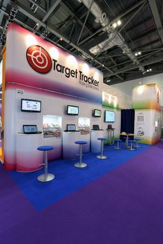 Exhibition Stand for Target Tracker at BETT 2014