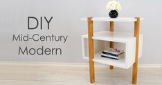Today on Creativity Hero I'll show you how to make a mid-century modern side table/end table with three legs. The goal was to make simple DIY project...